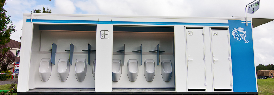 Mobile Toiletteneinheiten